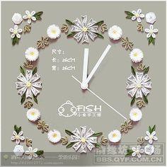 Clock Quilling