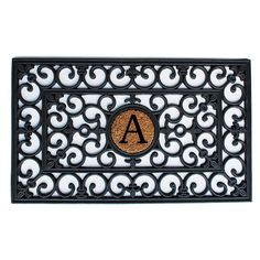 Home and More 18 x 30 Monogrammed Doormat - 15001