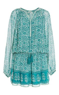 Ottoman Print Indra Dress by TALITHA Now Available on Moda Operandi