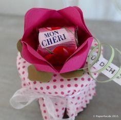 Stampin'Up! MON CHERI Rose, Anleitung, MON CHERI Marmelade Rezept, Stanz- und Falzbrett für Umschläge