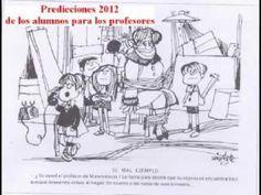 Predicciones 2012 de los alumnos para los profesores
