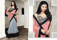 Beautiful And Smart Grey #Lehenga Set With Ethnic Look And Heavy Blouse   #lehengacholi #lehengasaree #bollywoodfashion #craftshopsindia