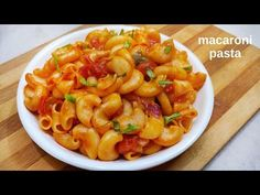 Macaroni pasta a indian version of dry pasta recipe which are prepared with elbow-shaped pasta.Here is recipe of indian style macaroni pasta Pasta Indian Style Recipe, Pasta Recipes Indian, Vegetable Pasta Recipes, Pasta Recipes Video, Vegetarian Recipes, Cooking Recipes, Snack Recipes, Healthy Recipes, How To Prepare Pasta