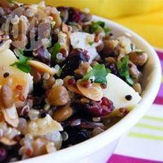 Lentil and quinoa salad @ allrecipes.co.uk