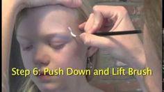 Jacana Face Paint - YouTube