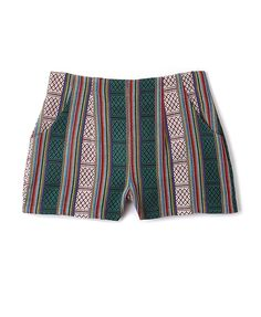 $19.80 - High-Waisted Serape Shorts   FOREVER21 - 2079008553