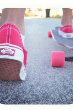 Vans , longboard