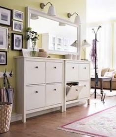HEMNES Shoe cabinets from ikea
