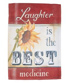 'Laughter Is the Best Medicine' Flag