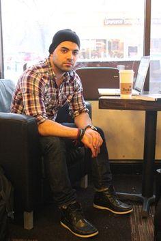 Alon at Jackson's Coffee and Gelato