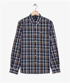 ORDER ONLINE > Fred Perry checked shirt