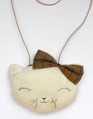 MyCuddle™ - Kitten Bag - Organic Bag - Handmade in Italy with love