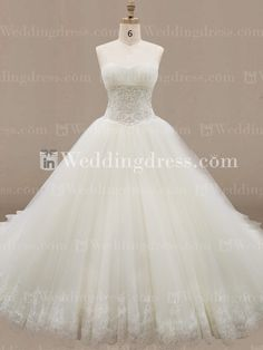 Tulle+Ball+Gown+Wedding+Dress+with+Embroidered+Lace+DE334N - maybe it's too much... but dear God, that's a gorgeous skirt.