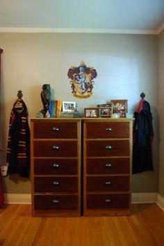 harry+potter+nursery | Harry Potter Gryffindor Dorm Room