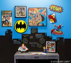 Pow! Pow! Study sessions and late night math attacks don't stand a chance with superheroes on your side!