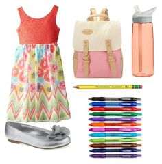 """""""2nd graders first day of"""" by emilystoneman ❤ liked on Polyvore"""