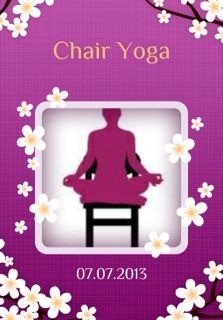 SunLight Chair Yoga app out soon! Free! Do yoga at home, work, on airplanes, in wheelchairs and more. Yoga is for everyone! www.sunlightchairyoga.com