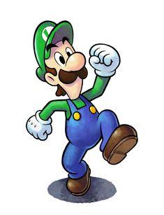 Luigi - Mario & Luigi: Paper Jam