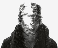 A selection of in-camera multiple exposure portraits shot during the winter of 2013 in Finland. As before, all images are created while shooting with Nikon's multiple exposure feature. Double Exposure Photography, Texture Photography, Creative Photography, Digital Photography, Portrait Photography, Mug Template, Double Image, Instagram Background, Multiple Exposure