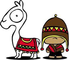 Lamas maniacs Painted Clay Pots, Painted Flower Pots, Alpacas, Art Péruvien, Peruvian Art, Creative Class, Pet Rocks, Mexican Art, Mandala Design