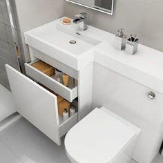 New bathroom sink vanity unit cabinet colors ideas Bathroom Sink Vanity Units, Bathroom Layout, Modern Bathroom, Small Bathroom, Bathroom Ideas, Hang Towels In Bathroom, Bathroom Towel Storage, Toilet Sink, Sink Toilet Combo