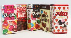 Meiji Petite Assortment Japanese Chocolate, Marble Chocolate, Japanese Candy, Japanese Sweets