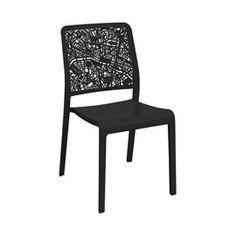 Fauteuil de jardin en résine (plastique) Musa blanc | Les chaises ...