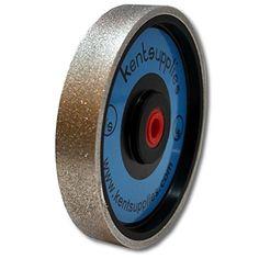 "Grit 240 Kent 6"" Diam x 1"" Width Diamond Lapidary Jewelry Grinding Wheel"