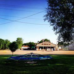 #Littlehouselittlekidslittlesmalltownstory#Kansas#Delphos_Kansas#OnlyGasStationInTown#park#FamilyRoadtrip2013#Delphos⛽