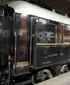 ♔ Orient Express ~ Sleeping car ~ Paris Gare de L'est station