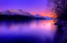 Queenstown NZ by AL-AMMAR - Where the earth meets the sky!
