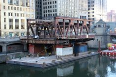 The Bridge On Beside the River Chicago - Reconstructing Wells Street