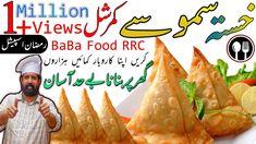 Assalam o Alikium this is Ramish Rizwan from Baba Food RRC I hope everyone is fine by the grace of Allah almight ============================================. Potato Samosas Recipe, Baba Recipe, Snack Recipes, Snacks, Crispy Potatoes, Iftar, Ramadan, Chips, Baba Food