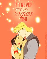 """I'd rather die tomorrow than live a hundred years without knowing you."" -- John Smith. <3"
