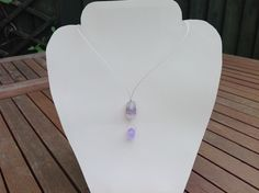 Lilac Blossom Focal Necklace
