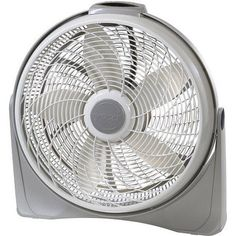 Lasko 20 inch Cyclone Fan, Gray 3542, Beige