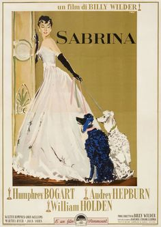 Italian poster for SABRINA (Billy Wilder, USA, 1954)Artist: Ercole Brini(1913-1989) [see also]Poster source: Heritage Auctions