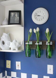 Ideas para reciclar botellas de vidrio | Hacer bricolaje es facilisimo.com
