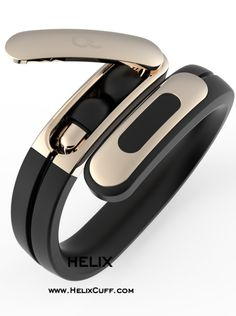 @ashleychloe Helix: The World's First Wearable Cuff with Stereo Bluetooth Headphones designed by Former Lead Industrial Designer at Nokia and Nest. www.ashleychloe.com