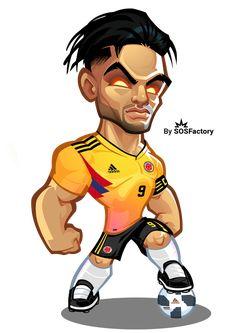 Football Player Drawing, Football Players, Football Drawings, Ronaldo Football, Team Wallpaper, Cute Panda Wallpaper, Graffiti Characters, Chibi Characters, Comic Book Drawing