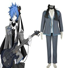 Deluxe Vocaloid Kaito 3RD Cosplay Costumes