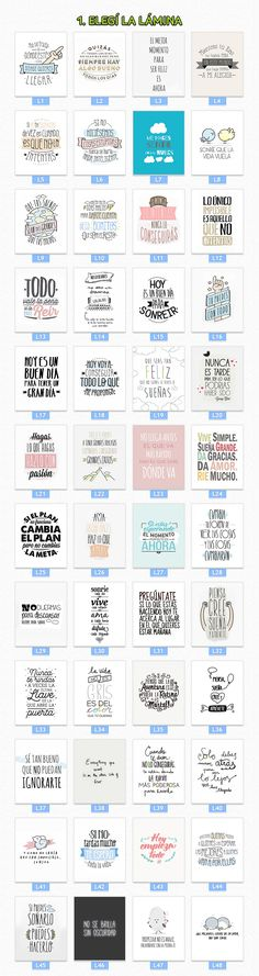 Cuadros Impresos Con Frases De La Vida +400 Diseños - $ 99,99 en Mercado Libre Mr Wonderful, Typography, Lettering, Project Life, Ideas Para, Diy And Crafts, Doodles, Bullet Journal, Clip Art