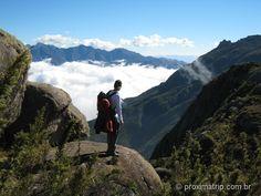 Parque Nacional do Itatiaia - Mirante na região das Prateleiras