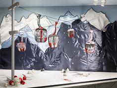 """LUDWIG BECK,Munich Germany,""""Ski Season NOW OPEN"""", pinned by Ton van der Veer"""