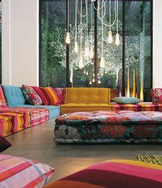 Roche Bobois   La marque de mobilier internationalement connue Roche Bobois a été présente à iSaloni 2016. #rochebobois #design #decorationintèrieur http://magasinsdeco.fr/nouvelle-collection-roche-bobois/