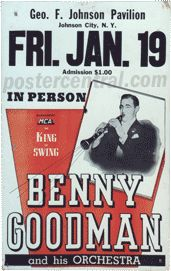 Vintage Big Band Concert Posters of the 1930s-40s