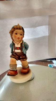 Hummel ALPINE DANCER Boy Goebel Figurine #2108/B Mint Drawing For Kids, Art Sketches, Bb, Dancer, Porcelain, Mint, Porcelain Ceramics, Dancers, Art Drawings
