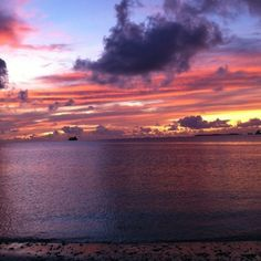 Sunset at the Majuro, Marshall Islands