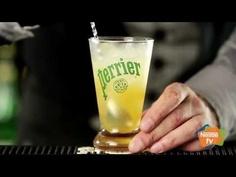 El Perrier Ginger Fresh, una  bebida sin alcohol  muy simple de preparar, saludable y sobre todo muy refrescante.