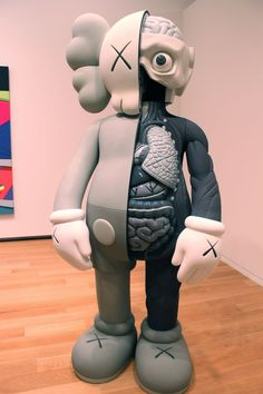 KAWS>Companion (Dissection in B/W)